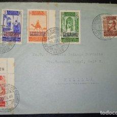 Sellos: 1940.- NADOR (MARRUECOS) A MELILLA.. Lote 221656077