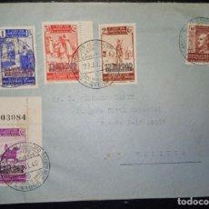Sellos: 1940.- NADOR (MARRUECOS) A MELILLA.. Lote 221659302