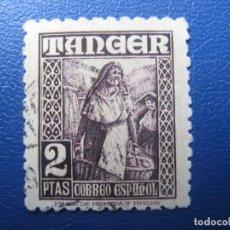 Sellos: -TANGER, 1948, EDIFIL 163. Lote 221760862