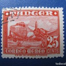 Sellos: -TANGER, 1948, AVIONES, EDIFIL 167. Lote 221761227