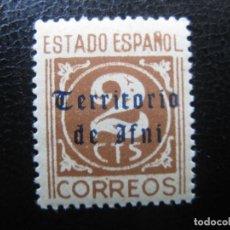 Sellos: ++IFNI, 1948, SELLO HABILITADO EDIFIL 37. Lote 221940776