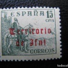 Sellos: ++IFNI, 1948, SELLO HABILITADO EDIFIL 42. Lote 221941748