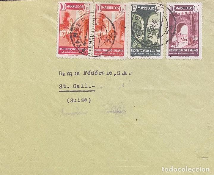 MARRUECOS, CARTA CIRCULADA EN EL AÑO 1942 (Sellos - España - Colonias Españolas y Dependencias - África - Marruecos)