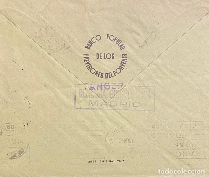 Sellos: MARRUECOS, CARTA CIRCULADA EN EL AÑO 1942 - Foto 2 - 222002915
