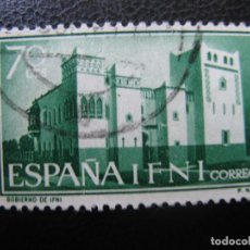 Sellos: ++IFNI, 1961, XXV ANIV. EXALTACION DE FRANCO A LA JEFATURA DEL ESTADO, EDIFIL 181. Lote 222010633