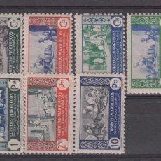 Sellos: MARRUECOS -1946 ARTESANÍA NUMS 260 A 269 NUEVOS SIN FIJASELLOS. Lote 222149928