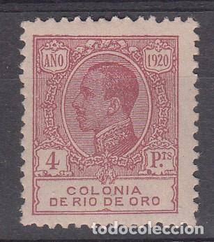 RIO DE ORO NUM 128 NUEVO CON FIJASELLOS (Sellos - España - Colonias Españolas y Dependencias - África - Río de Oro)