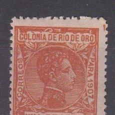 Sellos: RIO DE ORO NUM 28 NUEVO CON FIJASELLOS. Lote 222242012