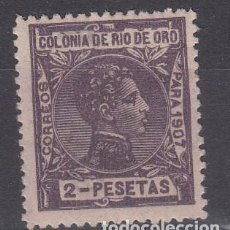 Sellos: RIO DE ORO NUM 29 NUEVO CON FIJASELLOS. Lote 222242112