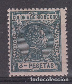 RIO DE ORO NUM 30 NUEVO CON FIJASELLOS (Sellos - España - Colonias Españolas y Dependencias - África - Río de Oro)