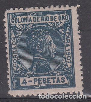RIO DE ORO NUM 31 NUEVO CON FIJASELLOS (Sellos - España - Colonias Españolas y Dependencias - África - Río de Oro)