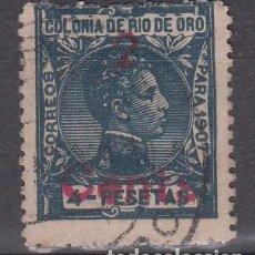 Sellos: RIO DE ORO NUM 59 USADO. Lote 222244851