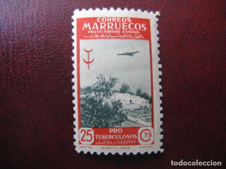 ++MARRUECOS ESPAÑOL, 1948,PRO TUBERCULOSOS, EDIFIL 295 (Sellos - España - Colonias Españolas y Dependencias - África - Marruecos)
