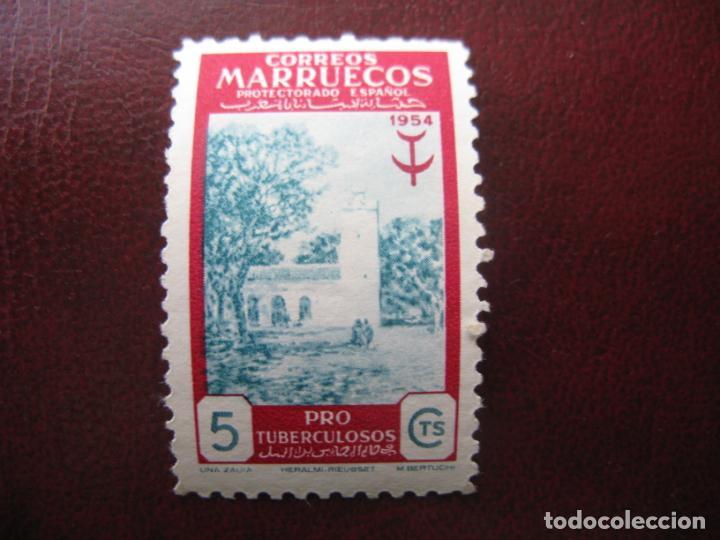 ++MARRUECOS ESPAÑOL, 1954, PRO TUBERCULOSOS, EDIFIL 394 (Sellos - España - Colonias Españolas y Dependencias - África - Marruecos)