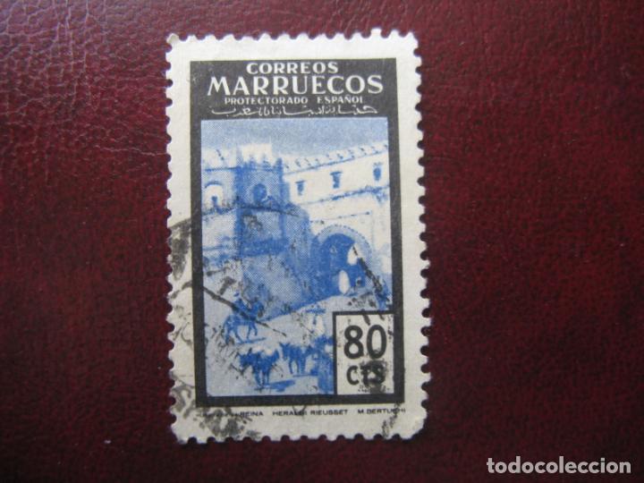 ++MARRUECOS ESPAÑOL, 1955, PUERTAS TIPICAS, EDIFIL 402 (Sellos - España - Colonias Españolas y Dependencias - África - Marruecos)