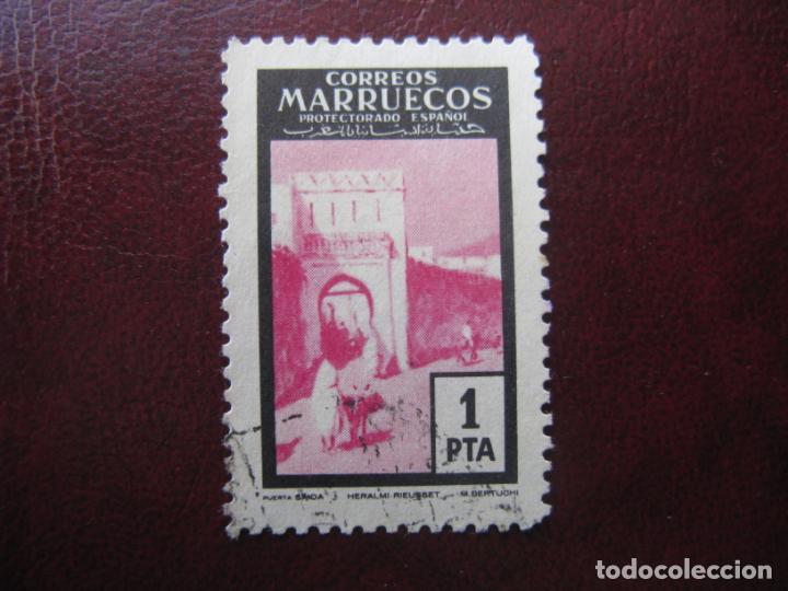 ++MARRUECOS ESPAÑOL, 1955, PUERTAS TIPICAS,EDIFIL 403 (Sellos - España - Colonias Españolas y Dependencias - África - Marruecos)