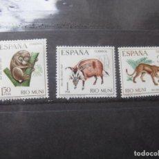 Sellos: ++RIO MUNI, 1967, DIA DEL SELLO, EDIFIL 80/82. Lote 223395445
