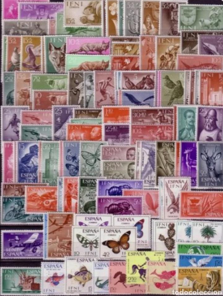 ESPAÑA IFNI 1955-1968 AÑOS COMPLETOS EDIFIL 122/238 - NUEVOS SIN CHARNELA MNH (Sellos - España - Colonias Españolas y Dependencias - África - Ifni)