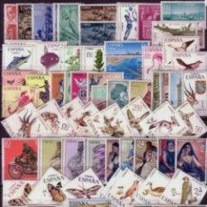 Sellos: ESPAÑA SAHARA 1965-1975 AÑOS COMPLETOS EDIFIL 239/322 - NUEVOS SIN CHARNELA MNH. Lote 237338265