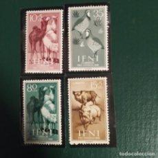 Sellos: SELLOS IFNI PRO-INFANCIA 1960 SERIE DE CUATRO. Lote 224202797