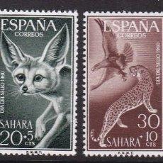 Timbres: SAHARA 1960 - FAUNA SERIE COMPLETA NUEVA SIN FIJASELLOS EDIFIL Nº 176/179. Lote 224757728