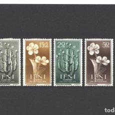 Sellos: IFNI 1956 - EDIFIL NRO. 128-31 - CHARNELA. Lote 236363835