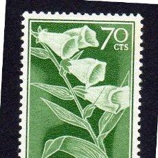 Sellos: GUINEA ESPAÑOLA, PRO-INFANCIA. FLORES. 1959. NUEVO SIN CHARNELA. Lote 225688140