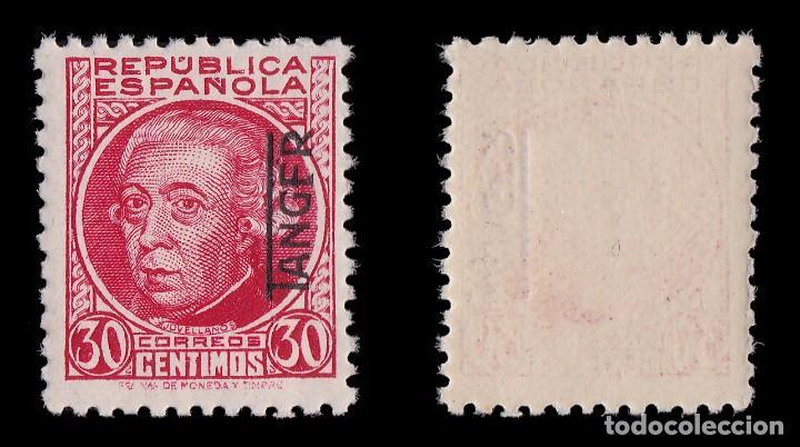 Sellos: TANGER.1937-38.Sellos España.H.25c.MNH. Edifil.92 - Foto 2 - 226796640