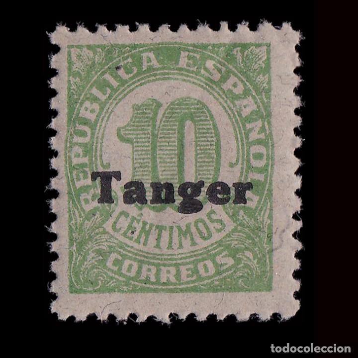 TANGER 1939.SELLOS ESPAÑA.HABILITADO.10C.MNH.EDIFIL.115 (Sellos - España - Colonias Españolas y Dependencias - África - Tanger)