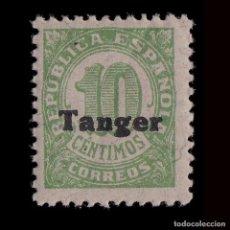Sellos: TANGER 1939.SELLOS ESPAÑA.HABILITADO.10C.MNH.EDIFIL.115. Lote 226848715