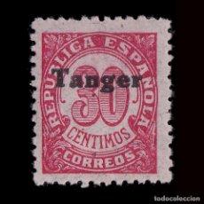 Sellos: TANGER 1939.SELLOS ESPAÑA.HABILITADO.30C.MNH.EDIFIL 119. Lote 226849565