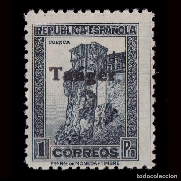 TANGER 1939.SELLOS ESPAÑA.HABILITADO.1P. MNH.EDIFIL.124 (Sellos - España - Colonias Españolas y Dependencias - África - Tanger)