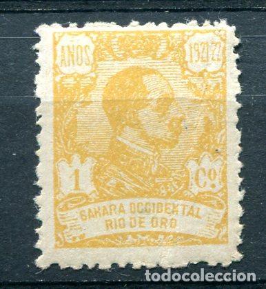 EDIFIL 130 DE RIO DE ORO. 1 CT. AÑO 1921. NUEVO SIN FIJSELLOS (Sellos - España - Colonias Españolas y Dependencias - África - Río de Oro)