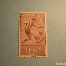 Sellos: IFNI 1958 - DEPORTES, FÚTBOL - EDIFIL 156 - NUEVO.. Lote 228564230