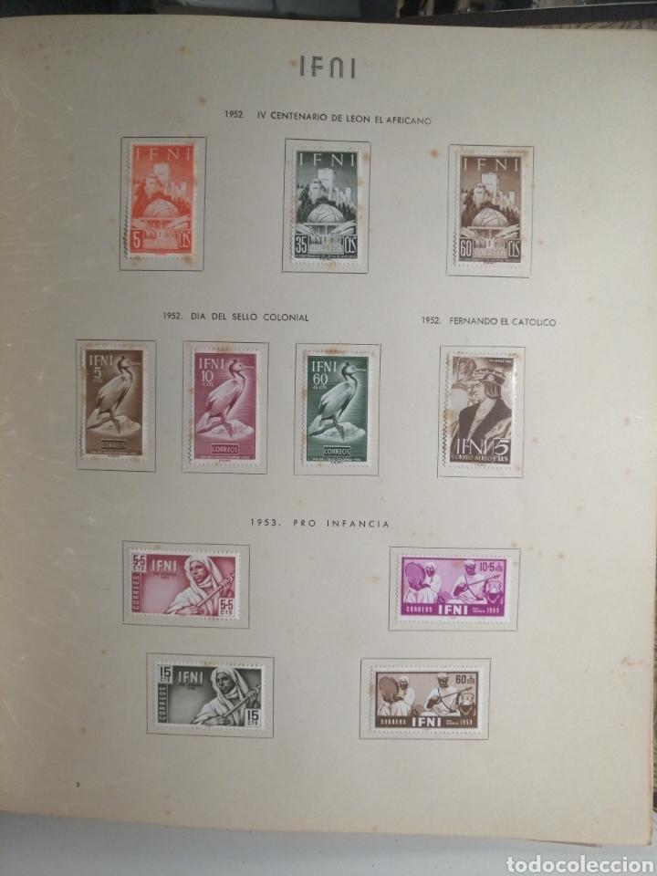 Sellos: Album de Sellos II Centenario Colonias Españolas IFNI, RIO MUNI, GUINEA, FERNANDO POO, SAHARA - Foto 3 - 229959110