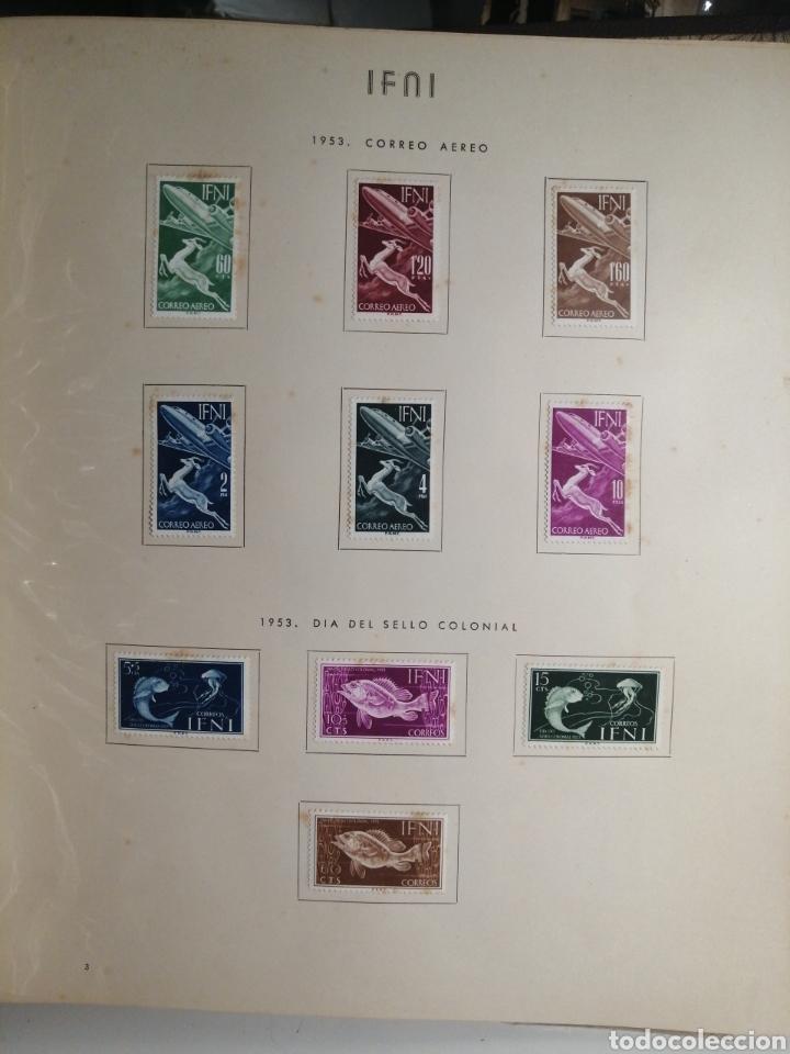 Sellos: Album de Sellos II Centenario Colonias Españolas IFNI, RIO MUNI, GUINEA, FERNANDO POO, SAHARA - Foto 4 - 229959110