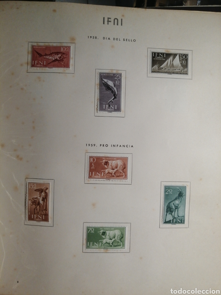Sellos: Album de Sellos II Centenario Colonias Españolas IFNI, RIO MUNI, GUINEA, FERNANDO POO, SAHARA - Foto 10 - 229959110