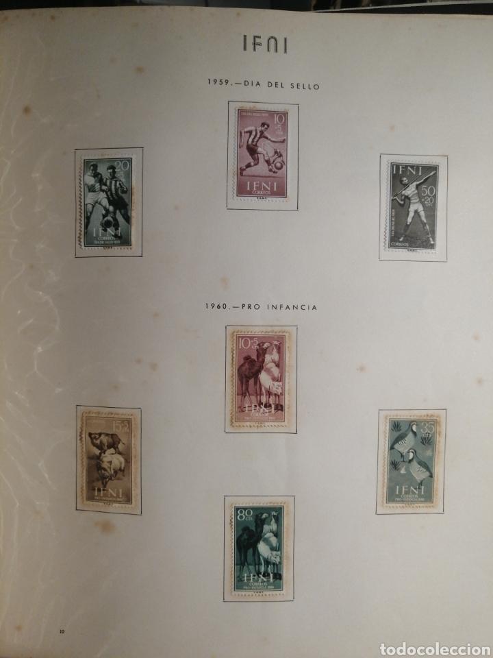 Sellos: Album de Sellos II Centenario Colonias Españolas IFNI, RIO MUNI, GUINEA, FERNANDO POO, SAHARA - Foto 11 - 229959110