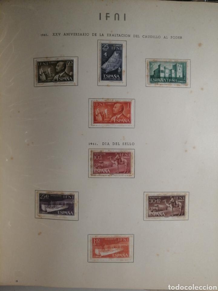 Sellos: Album de Sellos II Centenario Colonias Españolas IFNI, RIO MUNI, GUINEA, FERNANDO POO, SAHARA - Foto 14 - 229959110
