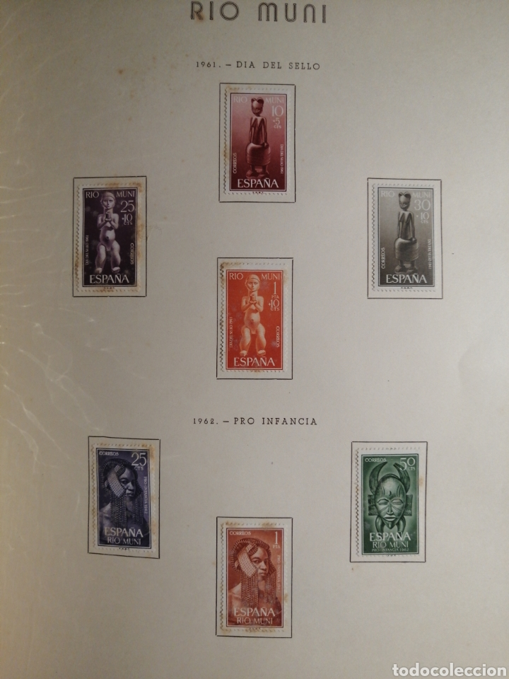 Sellos: Album de Sellos II Centenario Colonias Españolas IFNI, RIO MUNI, GUINEA, FERNANDO POO, SAHARA - Foto 19 - 229959110