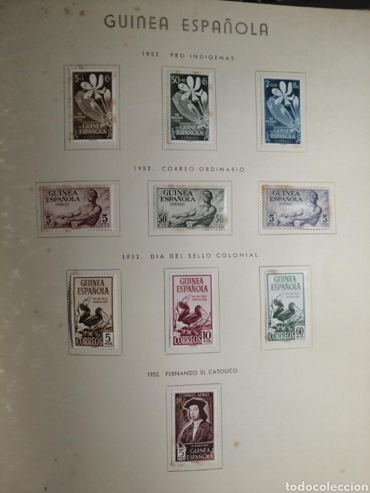 Sellos: Album de Sellos II Centenario Colonias Españolas IFNI, RIO MUNI, GUINEA, FERNANDO POO, SAHARA - Foto 21 - 229959110