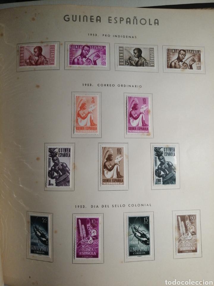 Sellos: Album de Sellos II Centenario Colonias Españolas IFNI, RIO MUNI, GUINEA, FERNANDO POO, SAHARA - Foto 22 - 229959110
