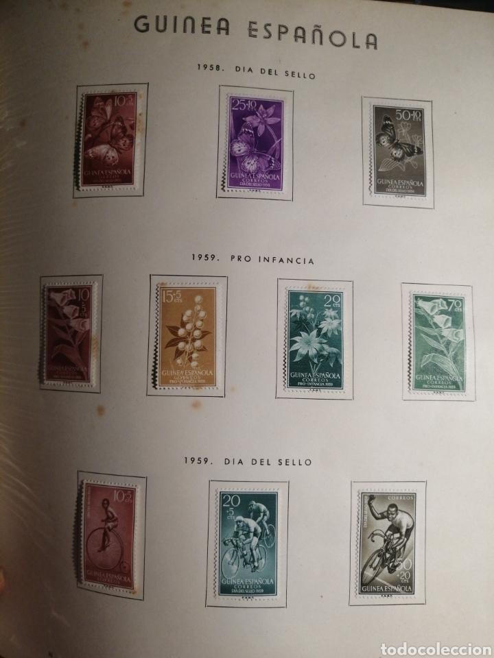 Sellos: Album de Sellos II Centenario Colonias Españolas IFNI, RIO MUNI, GUINEA, FERNANDO POO, SAHARA - Foto 29 - 229959110
