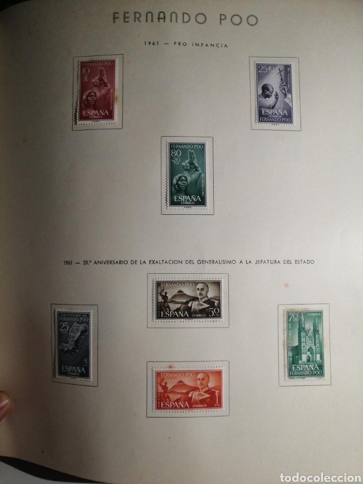 Sellos: Album de Sellos II Centenario Colonias Españolas IFNI, RIO MUNI, GUINEA, FERNANDO POO, SAHARA - Foto 32 - 229959110
