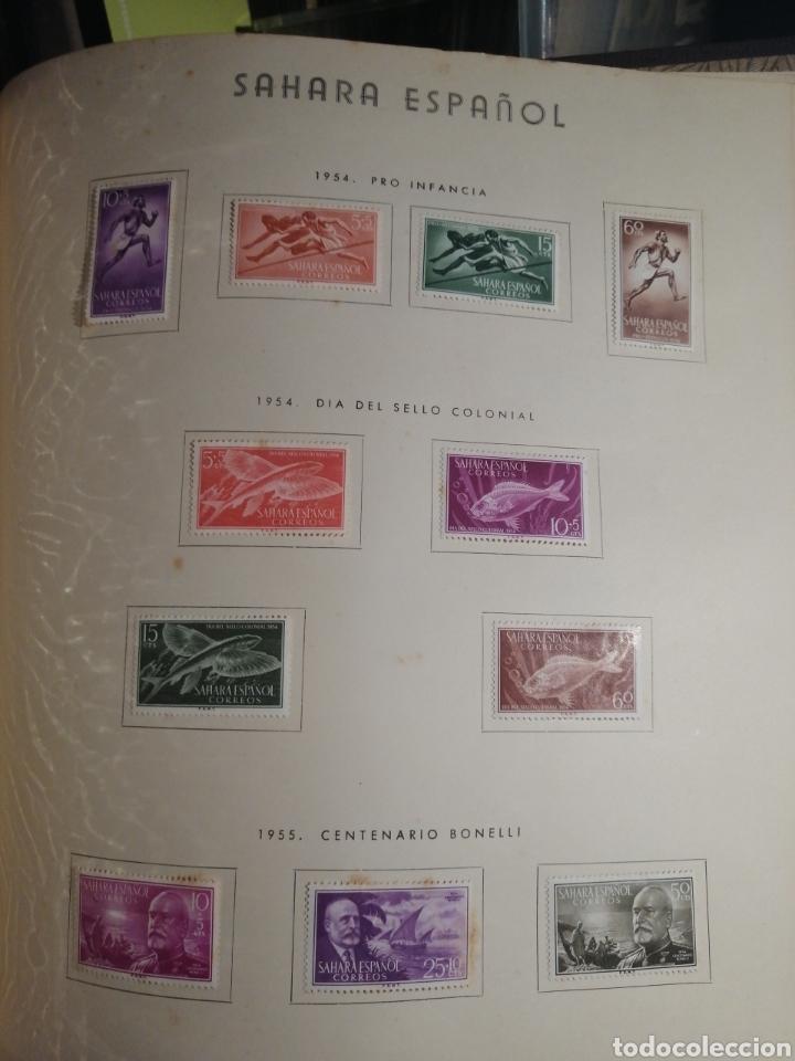 Sellos: Album de Sellos II Centenario Colonias Españolas IFNI, RIO MUNI, GUINEA, FERNANDO POO, SAHARA - Foto 36 - 229959110