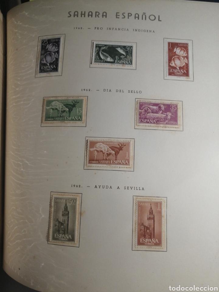 Sellos: Album de Sellos II Centenario Colonias Españolas IFNI, RIO MUNI, GUINEA, FERNANDO POO, SAHARA - Foto 47 - 229959110