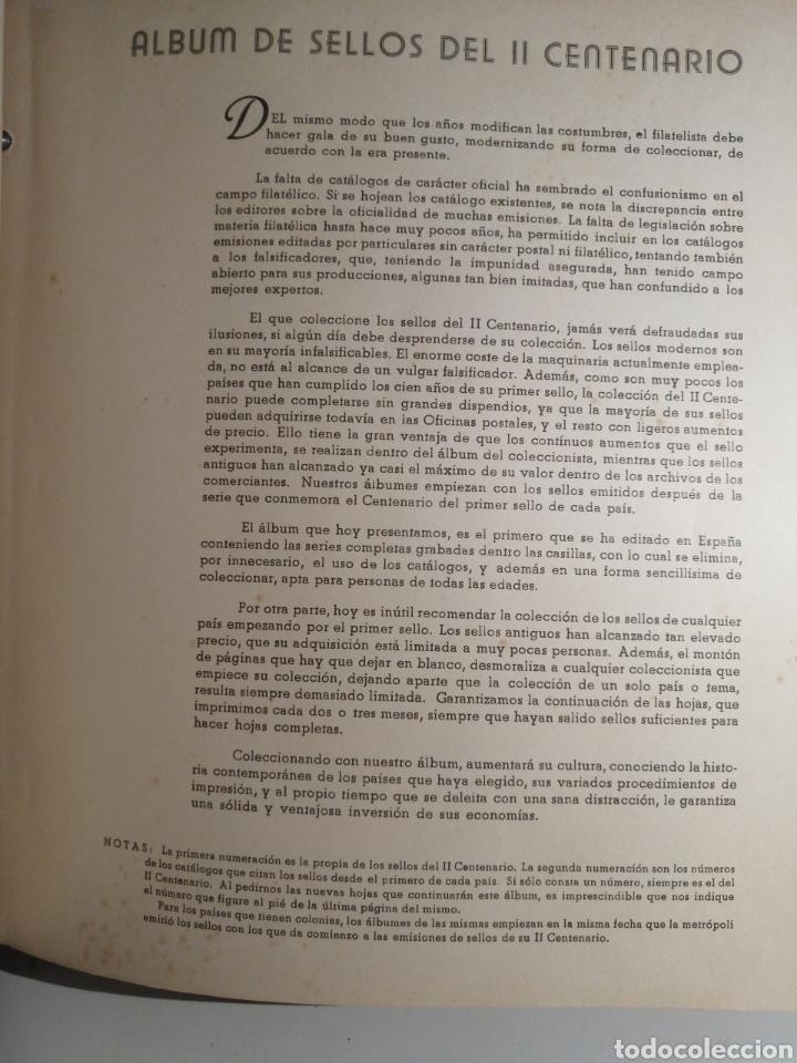 Sellos: Album de Sellos II Centenario Colonias Españolas IFNI, RIO MUNI, GUINEA, FERNANDO POO, SAHARA - Foto 48 - 229959110