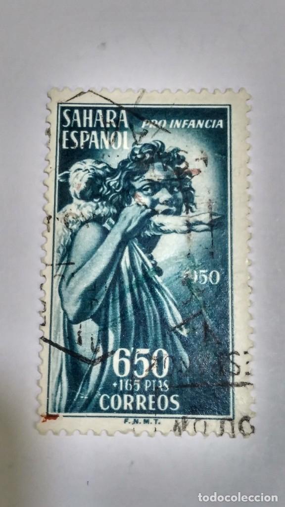 SELLO SAHARA Nº 85. PRO INDÍGENAS 1950.USADO. (Sellos - España - Colonias Españolas y Dependencias - África - Sahara)