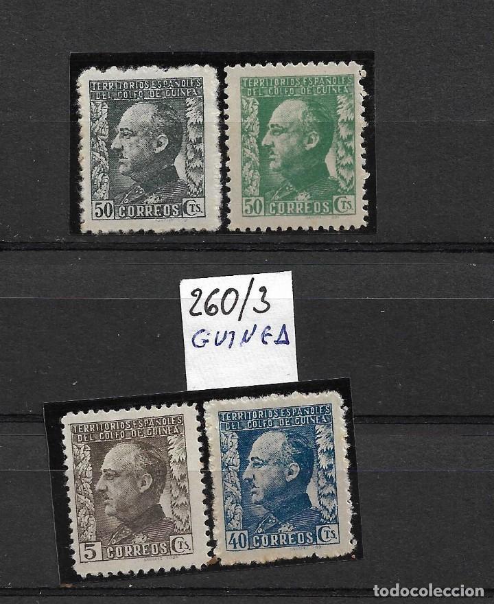 GUINEA ESPAÑOLA ED. 260-63 (Sellos - España - Colonias Españolas y Dependencias - África - Guinea)