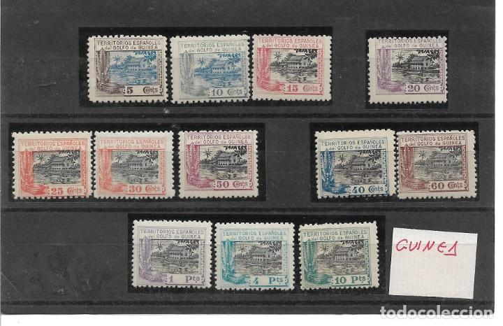 GUINEA ESPAÑOLA ED. 167-78 (Sellos - España - Colonias Españolas y Dependencias - África - Guinea)